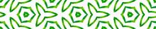 Green Kaleidoscope Seamless Bo...