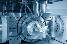 The 5-axis CNC Milling Machine...