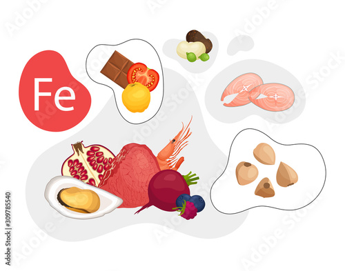 Cuadros en Lienzo High iron-containing foods