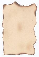 Texture Retro Burnt Paper Edge...