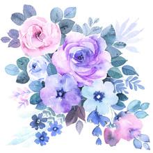 Bouquet Of Decorative Flowers,...