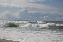 Ocean Waves At Marina California State Park