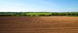 Leinwanddruck Bild - Paysage de campagne en été dans la campagne française.
