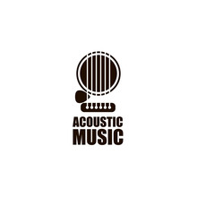 Icon Of Classical Acoustic Gui...