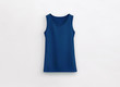 canvas print picture - Fitness tank top navy blue