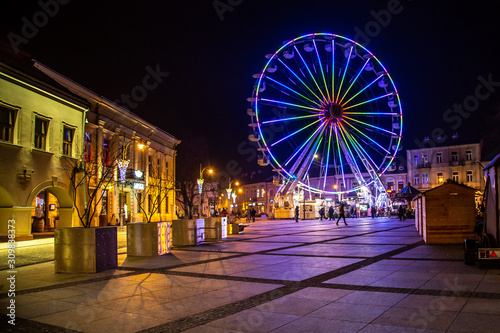 Fototapeta Kielce Diabelski Młyn - rynek obraz