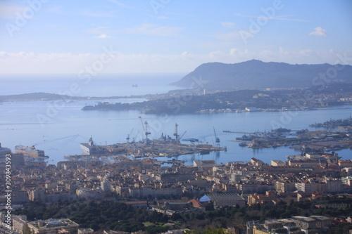 Fototapeta Toulon et sa rade