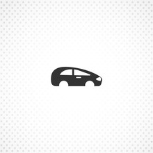 Car Body Vector Icon For Mobile Concept And Web Apps Design