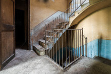 Staircase In An Old Building