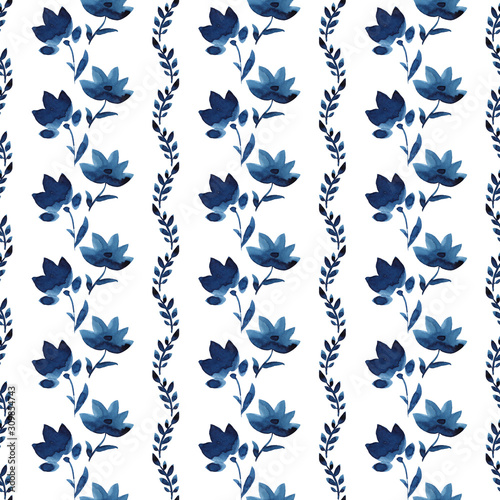 watercolor-flowers-handmade-in-indigo-blue-flower-seamless-pattern-isoleted-on-white-background-pantone-2020-classic-blue