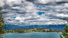 Looking Across Flathead Lake