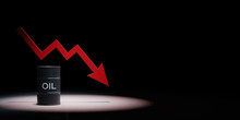Oil Price Crisis Concept Illus...