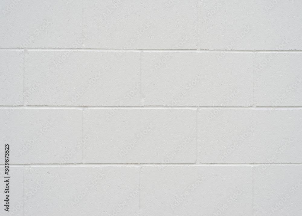 Obraz Grey Cinderblock Background fototapeta, plakat