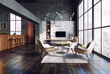 modern living interior