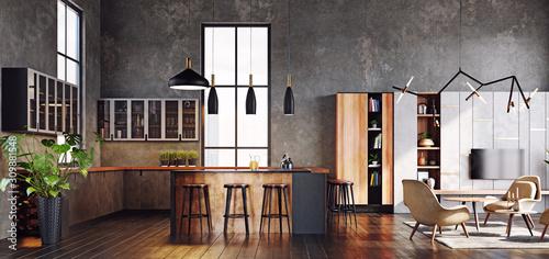 Fotografia modern living interior