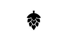 Hop Simple Black Symbol On Wh...