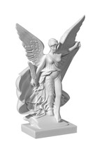 Beautiful Young Woman Angel Statue