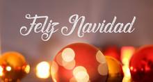 Christmas Greetings With Spani...