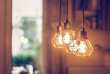 Lightning Lamps At Home, In Re...