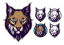 Bobcat Head Emblem