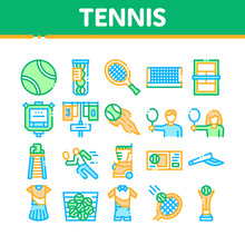 Tennis Game Equipment Collecti...