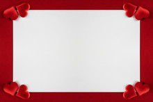 Valentines Day Hearts Frame