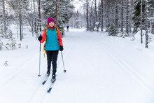 Cross Country Skiing - Woman W...
