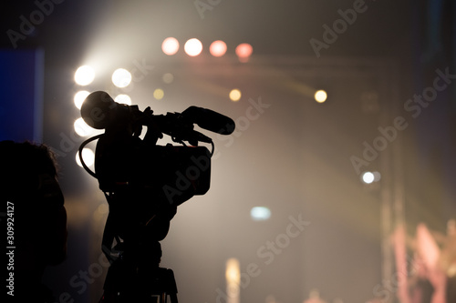 Fotografía  Video Production Camera social network live recording on Stage event which has interview session of contest, performance, concert or business seminar