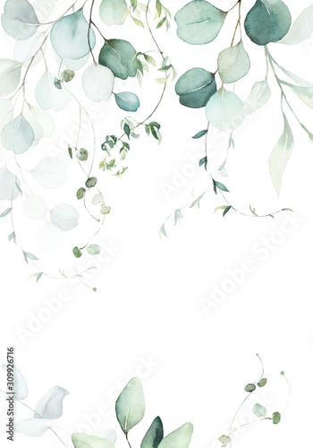 watercolor-floral-illustration-with-green-branches-leaves-frame-border-for-wedding-stationary-greetings-wallpapers-fashion-background-eucalyptus-olive-green-leaves-etc