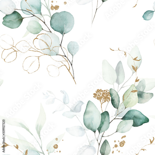 seamless-watercolor-floral-pattern-green-gold-leaves-branches-composition-on-white-background-perfect-for-wrappers-wallpapers-postcards-greeting-cards-wedding-invitations-romantic-events