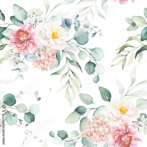 akwarela-kwiatowy-wzor-z