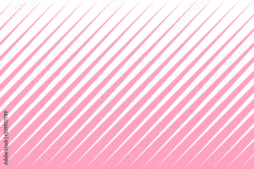 Diagonal stripes abstract pattern seamless background with pink and white colors Obraz na płótnie