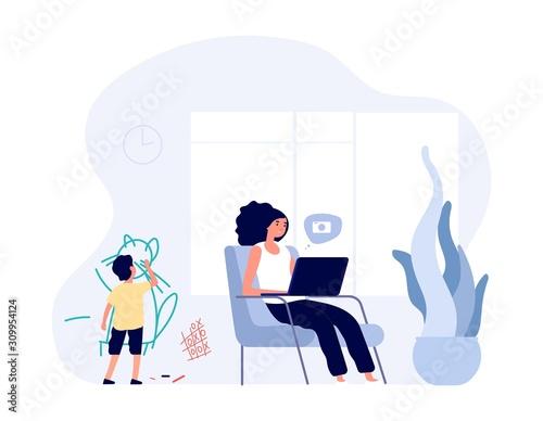 Internet addiction Fototapete