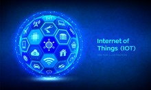 IOT. Internet Of Things Concep...