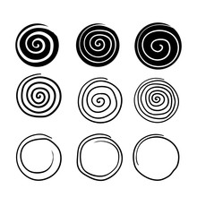 Collection Of Spiral Illustrat...