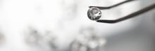 Beautiful Closeup For Concept Design Business. Precious Background. Jewelry Gemstone. Precious Stone. Jewelry Work.