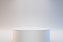 Modern Podium Or Pedestal Disp...