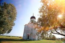 Church Summer Landscape Orthodox / Summer Landscape, Faith Religion Architecture Of Russia