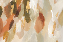 Hand Painted Abstract Trendy And Festive Background.