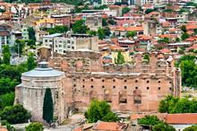 Red Hall Basilica In Bergama, Turkey