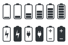 Battery Charging Icon. Battery...