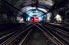 Underground Tunnel And The Rai...