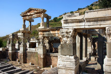 Ancient City Of Ephesus, In Th...