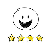 Review - Four Star Rating. Hap...