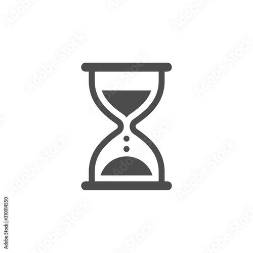 Obraz hourglass icon - fototapety do salonu
