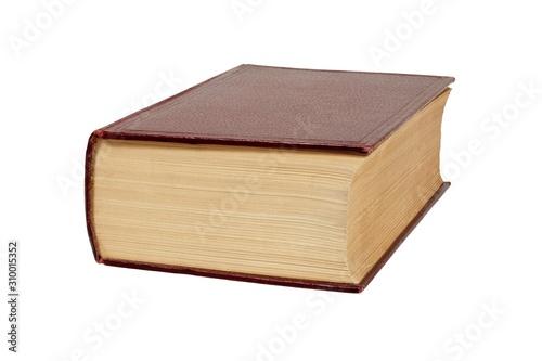 Cuadros en Lienzo Thick book on white