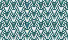 Seamless Pattern, Japanese Wat...