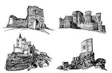 Graphical Set Of Castles Isola...