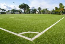 Campo Da Calcio In Un Centro Sportivo