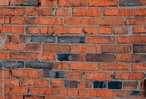 Crush Red Brick Wall Texture Grunge Background Old Interior Design Panorama Of Masonry Pattern Buy This Stock Photo And Explore Similar Images At Adobe Stock Adobe Stock